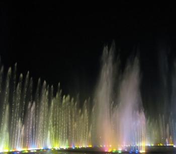 Rectangular Floating Dancing Water Fountain