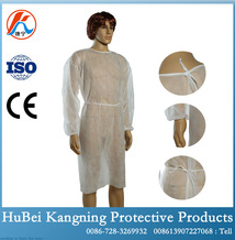 Sterile Disposable White Doctor Gown