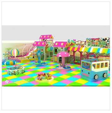 child smart project and kids amusement playground park
