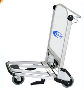 Hand airport cart with 3 wheels