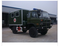 EQ5090G Dongfeng 4x4 off road ambulance truck