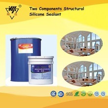Two Components Structural Silicone Sealant For Workshop Curtain Wall