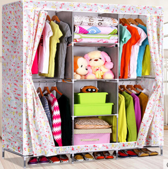 PN best selling bedroom wardrobe portable clothes closet storage laminate wardrobe designs