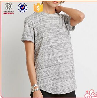 2015 best sell new knitting jersey women tops t shirts