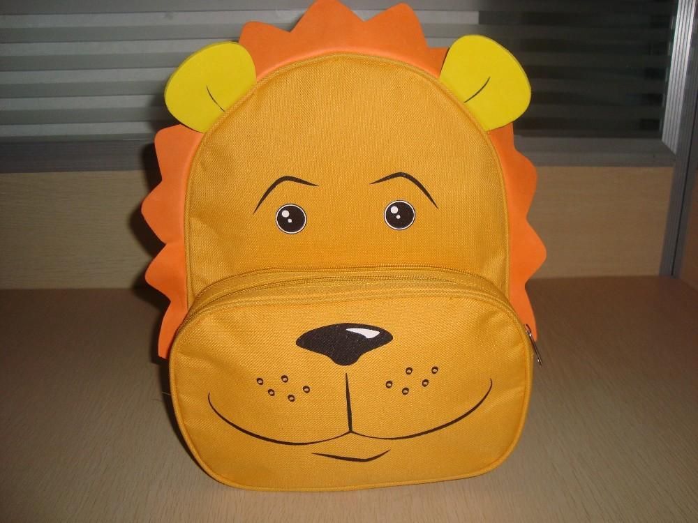 Animal Bag for Kids, Animal Backpack, Lion Backpack, Bag in Animal Shape