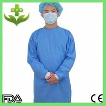 hubei mek xiantao healthcare products nonwoven sterile disposable waterproof gown  operating clothing