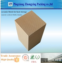 High Quality Heat Accumulation Ceramic Honeycomb for heat exchange system