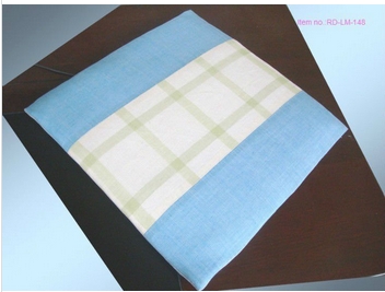 Item no.:RD-LM-148 ramie fabric cover seat cushion