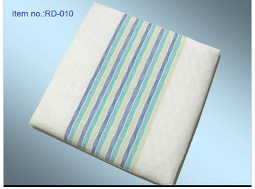 ramie fabric cover seat cushion with eco-friendly linen products material home decoration