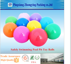 Safely Swimming Pool Pit Toy Balls