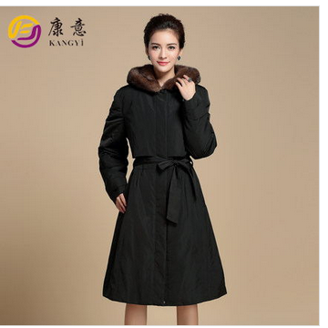 2015 new fashion style fur coat
