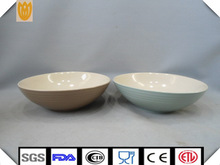 western colorful ceramic salad bowl