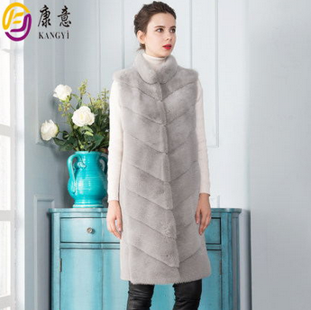 fur coat with sleeveless in 2015