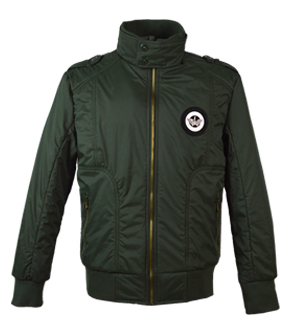 2015 fashionable stand collar men's winter jacket