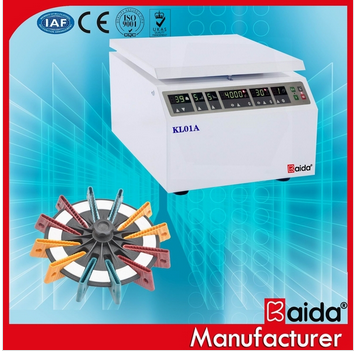KL01A Table Type Gel Card Centrifuge, ID card centrifuge, blood card centrifuge