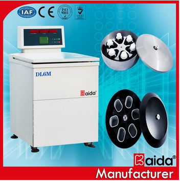DL6M High Performance Refrigerated laboratory bag blood centrifuge