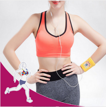 RUNN new fitness wear sports bra, dry-fit fabric fitness wear bra