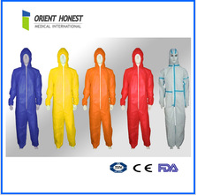 disposable flame retardant overall