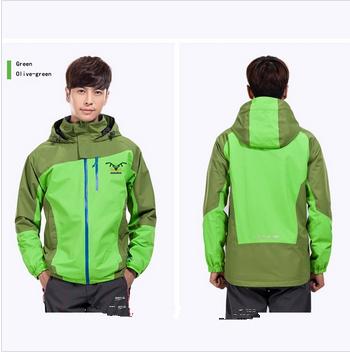 2014 OEM custom men outdoor waterproof jacket