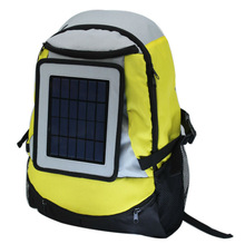 Solar travel bag backpack 2200mAh battery