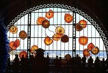 Murano glass wall art diy