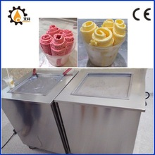 Cold Stone Marble Slab Top Fry Ice Cream Machine