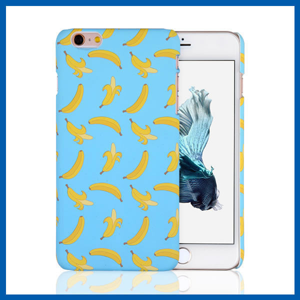 Durable Blue iPhone 6 Plus Protective Case For Beautiful Lady