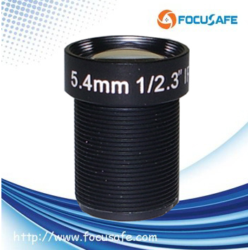 5.4mm 10mp m12 lens IR Cut Filter CCTV Lens