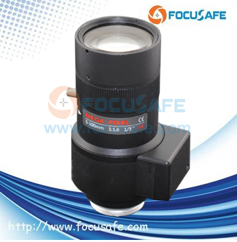 Megapixel Auto Iris Lens 5-100mm with 1/3