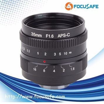 New 35mm Camera Lens for APS-C sensor f/1.6 C mount E NEX-7 5T 6 A5100 A6000 NEX EOSM FX M4/3 N1 PQ