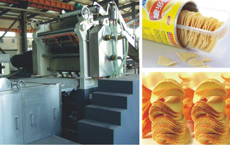 QH Large and Medium Sized Compound Potato-chips Production Line