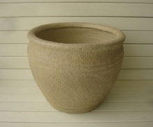 sand finish concrete planter sale for garden flower pot