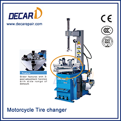CE approved motorcycle tire changer
