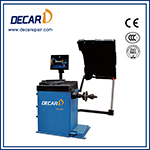 LCD display automatic wheel balancer