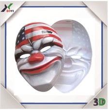 Wholesale Custom Printing Animal Party Mask/Carnival/Christmas/Halloween/Easter Day