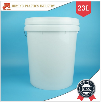 23L plastic barrel pp water proof painting plastic bucket chamical material pail