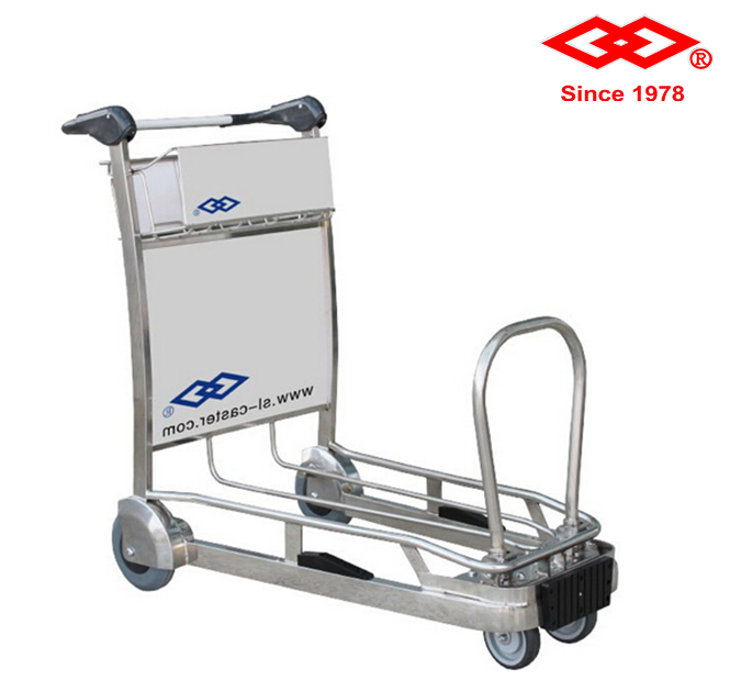 Airline trolley cart handcart aluminium four-wheel hand truck