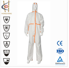 2014 Lightweight Comfortable SMS/PP Nonwoven Coverall