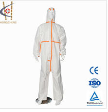 Cheap Disposable Antistatic Impervious Blue Coverall