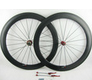 full carbon road bike wheels 700c carbon bike wheels clincher bicycle carbon wheels road 60mm/23mm