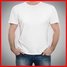 Wholesale plain white tshirts 100% cotton competitive price