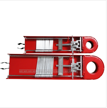 Steel Fire Hose Rack and Pins