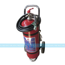ISO approval trolley fire extinguishing, wheel fire extinguishing, ABC fire extinguishing for 30kg