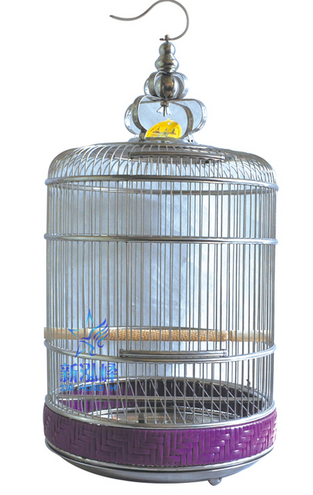 Newest Design Stainless Steel Round Bird Cage Unique hanging Bird Cage