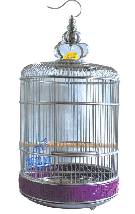 Newest Design Stainless Steel Round Bird Cage Unique hanging Bird Cage