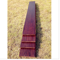 Imitation red sandalwood architecture materials bamboo flooring