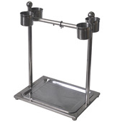 Vertical Type Stainless Steel Parrot Play stands have 4 sizes