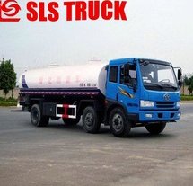 Best selling double axles JAC 5000L motor flusher