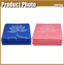 light weight screen printing foldable yoga mat