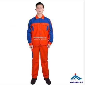Contrast Color 100% Cotton Welding Uniform